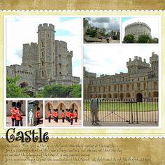 Recent Scrapbook Pages: London - Windsor Castle