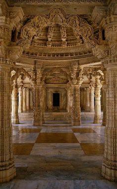 Jain Temple  Udaipur, Rajasthan - India