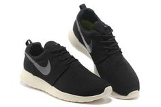658f2e0ca8df Nike Roshe - Run - Mens Coal Black Charcoal Junior Running Shoes On Sale