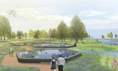 LOOS van VLIET / Niek Roozen - Green Valley Expo Park, Changzhou