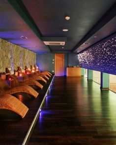 Richmond Nua Wellness Spa  ( Turkey )  The 29,000 square foot spa includes this dreamy relaxation room. #Jetsetter