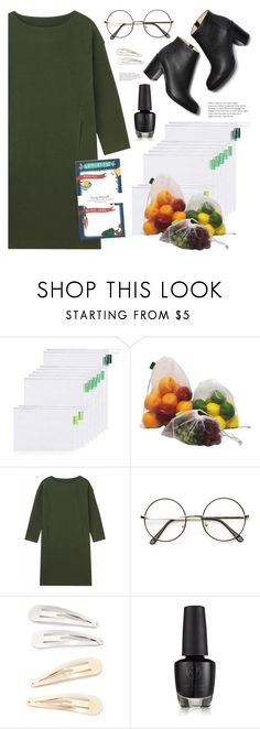 """""""Grocery shopping"""" by deeyanago ❤ liked on Polyvore featuring Kitsch and Emily McDowell"""
