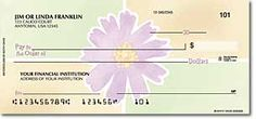 Cute personal checks you can order online.
