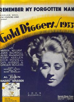 Joan Blondell ~ My Forgotten Man ~ Gold Diggers of 1933