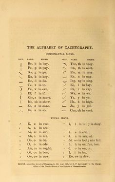 First lessons in takigrafy, a system of brief and rapid writing. 1879.