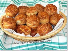 tepertős pogácsa A 17, Food Network, Muffin, Breakfast, Ethnic Recipes, Morning Coffee, Muffins, Cupcakes
