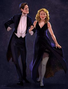 River Song and The Doctor (Doctor Who) Doctor Who Fan Art, Doctor Who Tumblr, Twelfth Doctor, Eleventh Doctor, Serie Doctor, Pin Up, Hello Sweetie, Fanart, Don't Blink