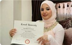 Eqbal Asa'd, 20, a Palestinian refugee who lives in a Palestinian refugee camp in Lebanon, At age of 20, she got the bachelor degree in medicine with honors.  The Guinness World Records set her as a world record for the youngest medicine student and the youngest doctor in the world.