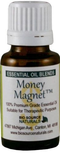 Money Magnet Essential Oil Blend Aromatherapy for Law of Attraction - 1 fl. oz. (30 ml) Bottle