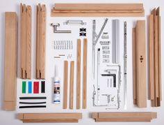 Komplexes Handwerk Modern, Office Supplies, Wood Windows, Trendy Tree