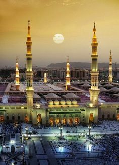 Sunset at Madina, Saudi Arabia
