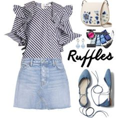 Add Some Flair: Ruffled Tops