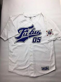 6b61da826 Vintage FUBU Collection 90 s HipHop Urbanwear Designer Baseball Jersey - XXL