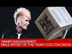 Winner Announcement 2015 - Male Artist of the Year - YouTube