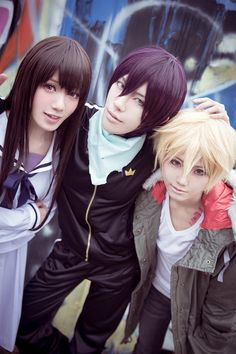 Hiyori, Yato, Yukine - Noragami   WorldCosplay, Weisa