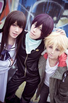 Hiyori, Yato, Yukine - Noragami | WorldCosplay, Weisa