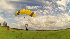 Safe and smoth landing. Tandem Skydive Tandemmichl