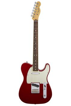 Fender Limited Edition American Standard Telecaster Channel Bound Rosewood Fingerboard, Dakota Red. My favorite electric F
