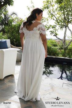 Plus size wedding gowns 2018 Scarlet (1)
