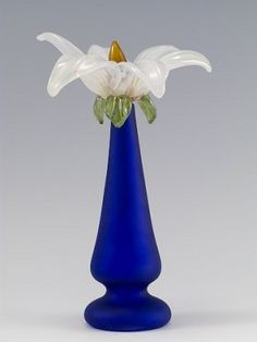 Perfume/White Lily Artist Susan Rankin Medium Blown Subject Perfume Dimensions H 9in x W 6in x D 6in