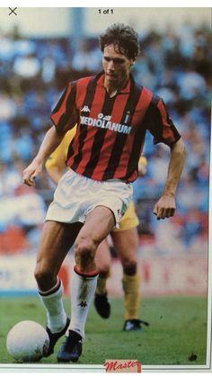 Ruud Gullit, Marco Van Basten, Football Icon, Soccer Stars, Ac Milan, All Star, Goal, Men's Fashion, Sports