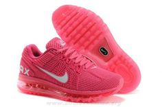 quality design 54d4a 51c6f Nike Air Max 2013 KPU Rose Blanc Femmes Chaussures Running Shoes On Sale, Runs  Nike
