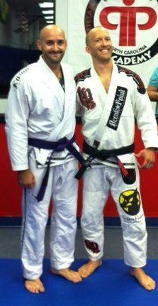 Josh Goguen awarded his Purple Belt in Brazilian Jiu Jitsu