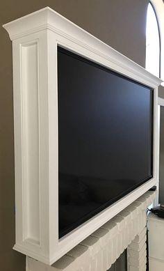 Elegant Flat Screen Wall Cabinet