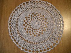 Crochet Galore: Birthday Doily - November Doily of The Month