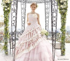 Island Bridal Color Wedding Dresses Collection | Wedding Inspirasi