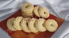 Dán vajas kekszek Biscuits, Garlic, Muffin, Food And Drink, Cookies, Baking, Vegetables, Recipes, Crack Crackers