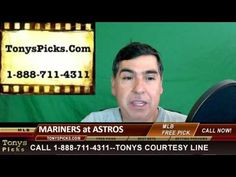 Seattle Mariners vs. Houston Astros Pick Prediction MLB Baseball Odds Pr...