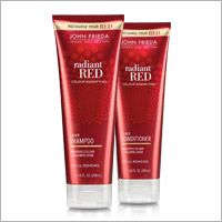 Radiant Red® Colour Magnifying® Daily Shampoo from the John Frieda® for natural and colored hair