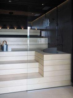 Sauna House, Sauna Room, Luxury Kitchen Design, Bathroom Interior Design, Building A Sauna, Portable Sauna, Chinese Interior, Sauna Design, Steam Sauna