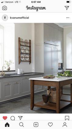 European Kitchens, Luxury Kitchens, Small Kitchens, Beautiful Kitchen Designs, Beautiful Kitchens, Monte Gordo, Paris Kitchen, Rustic Kitchen, Kitchen Ideas