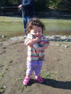 Hug a fish