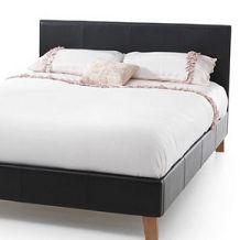 Serene Tivoli 6FT Superking Faux Leather Bedstead
