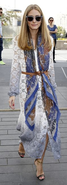 Wardrobe must-have: BELT. Olivia Palermo street style