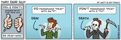 Deaf Comic Strips | What's bad about it?