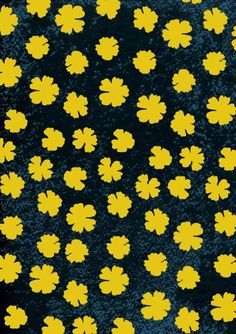 Yellow-clover-dark-sky Dark Skies, Sky, Yellow, Pattern, Heaven, Heavens, Patterns, Model, Swatch