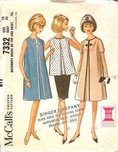 Vintage Maternity Patterns | Peggy's Pickles