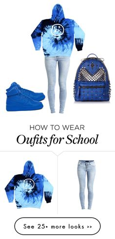 """""""Who ready for school"""" by neca-xoxo on Polyvore"""