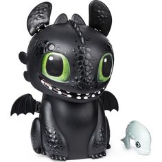 Hatch and train your very own baby dragon Toothless! Your favorite dragon from How to Train Your Dragon: The Hidden World comes to life with light-up eyes, movements and interactive sounds! Baby Toothless, Toothless Dragon, Dragon Egg, Baby Dragon, A Dogs Purpose, Dreamworks Dragons, Getting Hungry, How Train Your Dragon, One Color