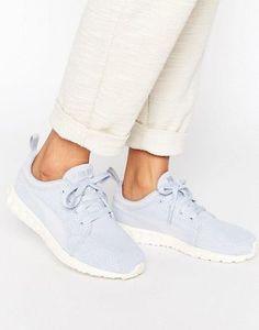 Puma Carson Mesh Sneakers In Blue