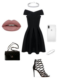 ♡ by marilena-beiko on Polyvore featuring polyvore fashion style Aquazzura Chanel Swarovski Speck clothing