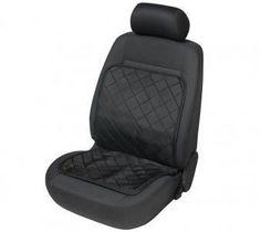 Schnell, einfach und ohne Werkzeug bringen Sie den Heizsitzaufleger Eco Heat mit flexibel einsetzbarer Sitzheizung an Ihrem Autositz an.