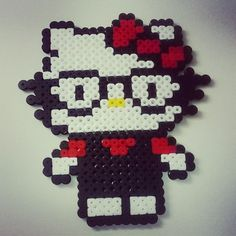 Hello Kitty hama beads by lepe855