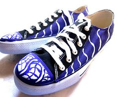 In search of more info on sneakers? Then click right here for much more info. Purple Sneakers, High Top Sneakers, Men's Sneakers, Custom Painted Shoes, Custom Shoes, Painted Sneakers, Fashion Shoes, Mens Fashion, Purple Love