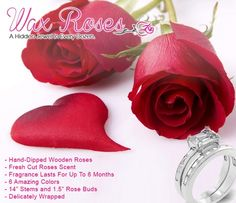 jewelry candles/pinterest | Wax Roses Giveaway! | Jewelry Candles | All JEWELRY CANDLES