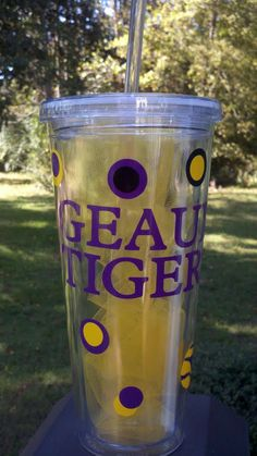 Must get this cup!! #LSU #GeauxTigers